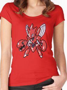 Scizor Retro Women's Fitted Scoop T-Shirt