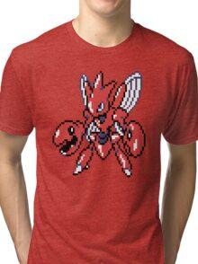 Scizor Retro Tri-blend T-Shirt