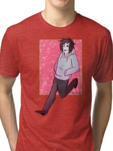 Jeff the Killer Tri-blend T-Shirt