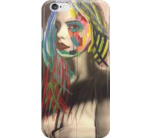 Model in ink iPhone Case/Skin