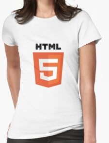 HTML5 Womens Fitted T-Shirt