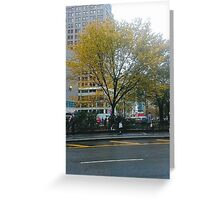Autumn In New York Greeting Card