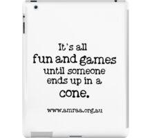 It's all fun and games... iPad Case/Skin