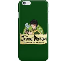 The Jasmine Dragon Tea House - With Prince Zuko iPhone Case/Skin