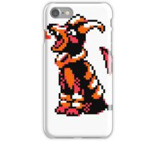 Houndoom Retro iPhone Case/Skin