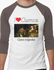 I love Cuenca - Casas colgadas Men's Baseball ¾ T-Shirt