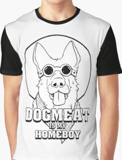 Dogmeat Is My Homeboy Graphic T-Shirt
