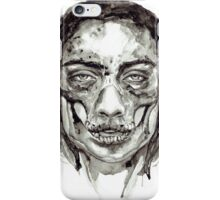 Skull Girl - Decay iPhone Case/Skin