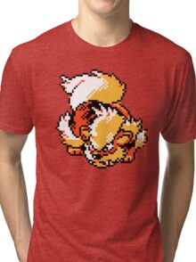 Arcanine Retro Tri-blend T-Shirt