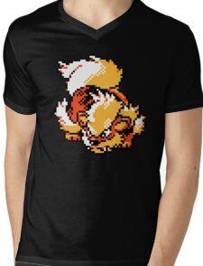 Arcanine Retro Mens V-Neck T-Shirt