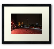 A clockwork Red Framed Print
