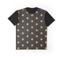7 Points to Ponder: Gold & Black Graphic T-Shirt