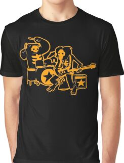 Drum and Bass Graphic T-Shirt
