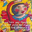 Sunbeams by ART PRINTS ONLINE         by artist SARA  CATENA