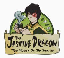 The Jasmine Dragon Tea House - With Prince Zuko One Piece - Short Sleeve