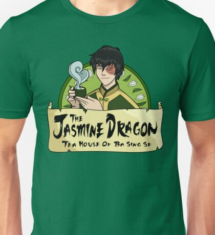 The Jasmine Dragon Tea House - With Prince Zuko Unisex T-Shirt