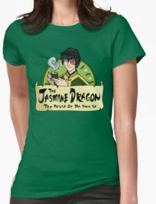 The Jasmine Dragon Tea House - With Prince Zuko Womens Fitted T-Shirt