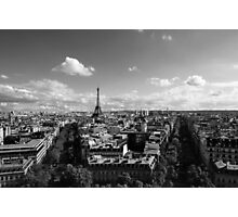 Paris- Eiffel Tower  Photographic Print