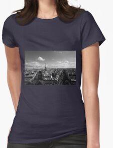 Paris- Eiffel Tower  Womens Fitted T-Shirt