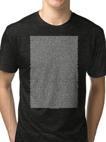 Real Bee Movie Script Black Tri-blend T-Shirt