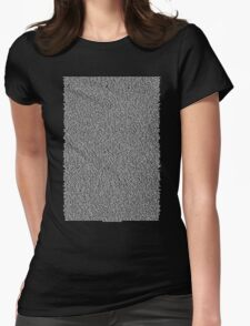 Real Bee Movie Script Black Womens Fitted T-Shirt