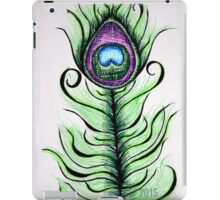Whimsical Peacock Feather iPad Case/Skin