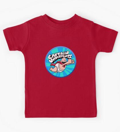 Captain Underpants  Kids Tee