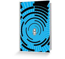 Space Man Hyperspace Greeting Card