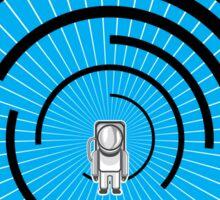 Space Man Hyperspace Sticker