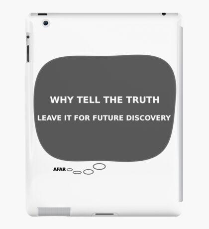 Message From Afar - Lie iPad Case/Skin