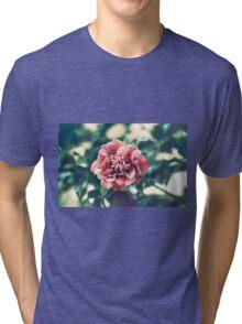 A Pink Flower in a Green World Tri-blend T-Shirt