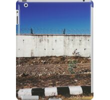 Wall With Barbed Wire iPad Case/Skin