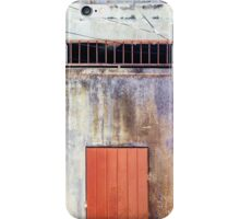 Old Cement Wall Panorama iPhone Case/Skin