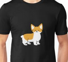 Skeeter the Corgi-Black Unisex T-Shirt