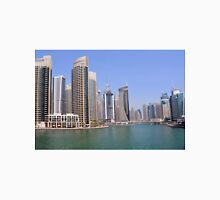 Buildings from Dubai Marina skyline. UAE. Unisex T-Shirt