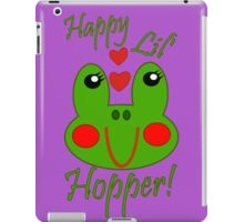 Happy Lil Hopper! Girl iPad Case/Skin