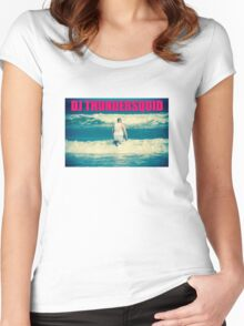 DJ THUNDERSQUID! Women's Fitted Scoop T-Shirt