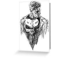 Punisher art Greeting Card