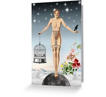 WHEN THE SKY FALLS  Greeting Card