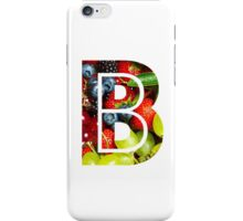 The Letter B - Fruit iPhone Case/Skin