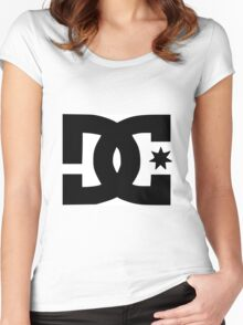 DC Shoes Logo Women's Fitted Scoop T-Shirt
