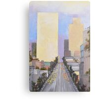 Building Heights Canvas Print