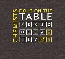 Chemists do it on the table Unisex T-Shirt