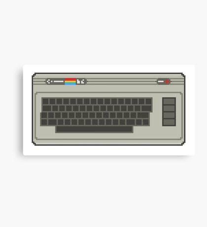 Commodore 64 Pixel Art Canvas Print