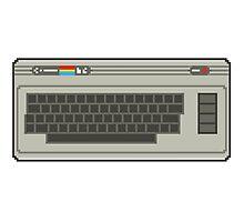 Commodore 64 Pixel Art Photographic Print
