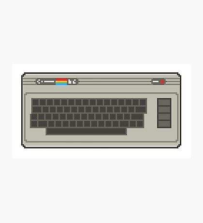 Commodore 64 Pixel Art Photographic Print