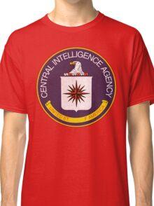 Distressed CIA Logo Classic T-Shirt