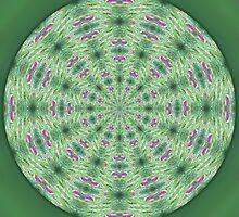 Ruby Ziolite Mandala 1 by haymelter
