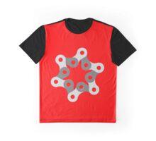 Chain Link Circle Graphic T-Shirt
