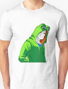 Wojak in Pepe hoodie T-Shirt